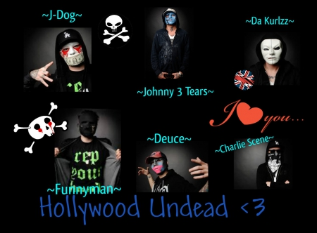 hollywood undead names - Emo Scene Wallpapers and Images ...