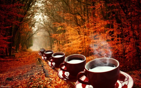 Image result for Autumn and coffee