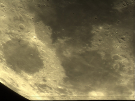 moon landscape - moon, space, craters, mare