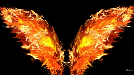 The Devils Wings - Fantasy & Abstract Background ...