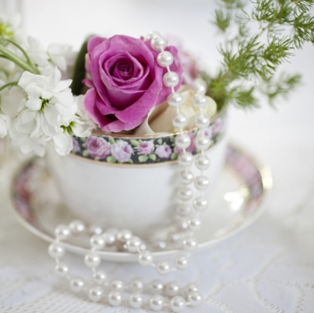 Pearls and roses for you - Photography & Abstract ...