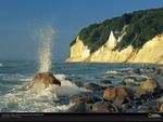 Chalk cliffs - Cretaceous period
