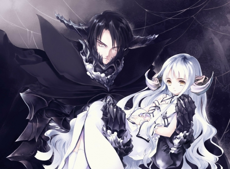 Black and white other anime background wallpapers on - Dark anime couples ...