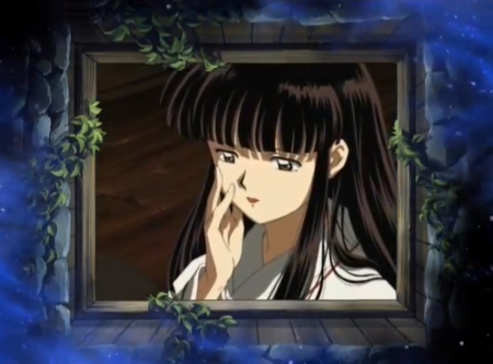 Kikyo - beautiful, long hair, pretty, lovely, beauty, inuyasha, anime, female, girl, nice, anime girl, black hair, kikyo, sweet