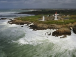 rugged coast lighthouse