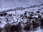 Bonneval-sur-Arc under the snow