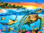 ★Sea Turtles in Paradise★