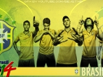 Brazil National Team: 2014 World Cup Wallpaper (HD)