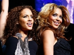 Alicia Keys and Beyonce