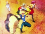 Ash and XY friends