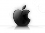 Black apple design