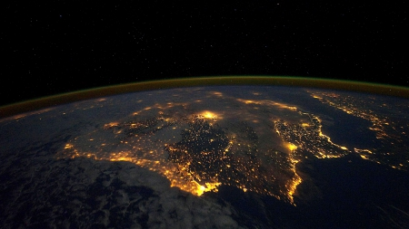 On Top Of The World - earth from space, earth, planet earth, On Top Of The World