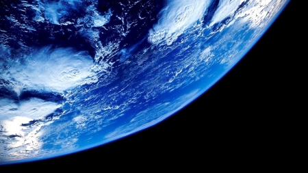 Earth from Space - earth, blue planet, planet earth, Earth from Space