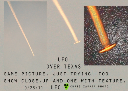 UFO over Texas - texas, real, ufo, over