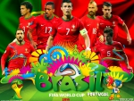 PORTUGAL WORLD CUP 2014 WALLPAPER