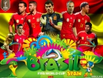 SPAIN WORLD CUP 2014 WALLPAPER