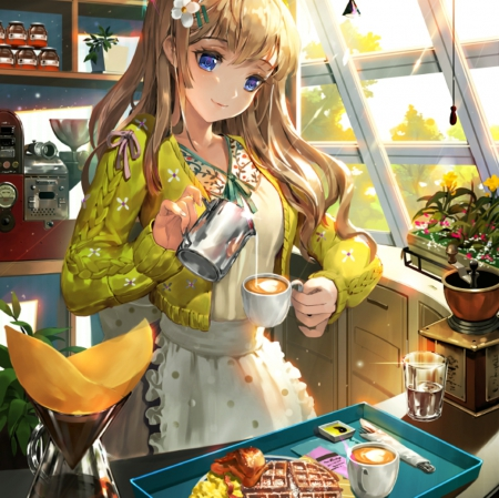 morning breakfast other amp anime background wallpapers on