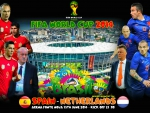 SPAIN - NETHERLANDS WORLD CUP 2014