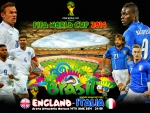 ENGLAND - ITALY WORLD CUP 2014