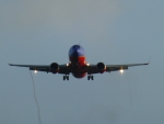 Boeing 737 in the Morning