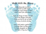 Walk with me, Mom