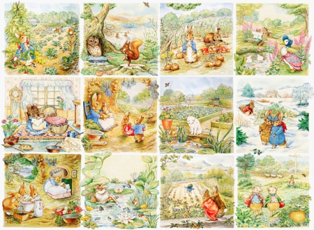 The World of Beatrix Potter - Other & Abstract Background ...