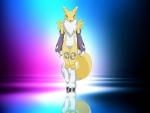 Renamon in the light