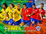 BRAZIL - CHILE WORLD CUP 2014 ROUND OF 16