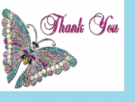 A butterfly _thank you