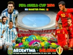 ARGENTINA - BELGIUM QUARTER-FINAL WORLD CUP 2014