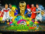 FIFA WORLD CUP 2014 SEMI-FINALS WALLPAPER