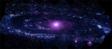 M31 in UV - galaxies, space, stars