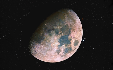 The Moon (Lunar) - lunar, the moon, moon, satellite, lune