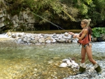 Fly Fishing Cowgirl