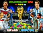 GERMANY - ARGENTINA WORLD CUP 2014 FINAL