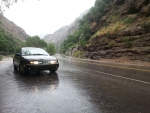 Saturn S-series in Rainy Mountain Canyon