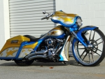 Pervis-Bagger-By Azzkikr Custom Cycles
