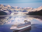 Diamond Princess Cruise Ship Artic Circle