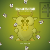 Year of the Bull (ox, Cow, Buffalo)
