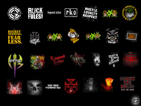 WWE LOGOS - cena, all, sleek, wrestling, logos, wwe
