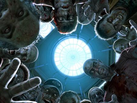 Zombie Attack - hospital, wds, contaminated, dead rising, people, capcom, widescreen, game, virus, death, videogame, zombie