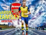 AARON RAMSEY ARSENAL WALLPAPER
