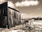 ghost town of bodie in california