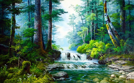 Forest Fantasy Forests Amp Nature Background Wallpapers On