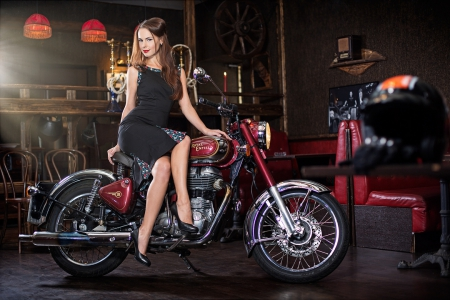 royal enfield girl   other amp motorcycles background