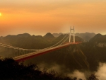 Aizhai Bridge_ human marvel