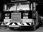 Monochrome Fire Truck