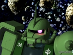 MOBILE SUIT GUNDAM ZAKU II MS-06F