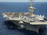 USS Dwight D Eisenhower Aircraft Carrier