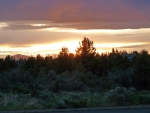 Sunset over Bend
